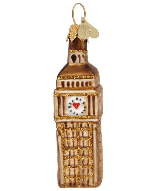 69db9d079b90 Little London Big Ben Christmas Tree Decoration | CHRISTMAS ...