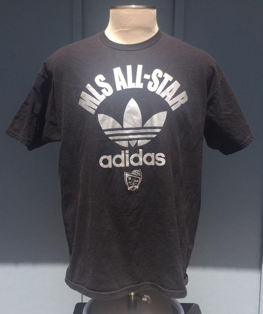 Adidas Sporting Kansas City MLS Soccer AllStar Trefoil T