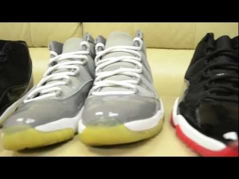"""bb62f569bbeabc ... GG Coral - 580521-013 - Size 5Y  2000 and 2001 Jordan 11 Collection  Nikon D 3100 Test Tune in to www.YouTube  Air Jordan 11 Retro Low """"Bleached  ..."""