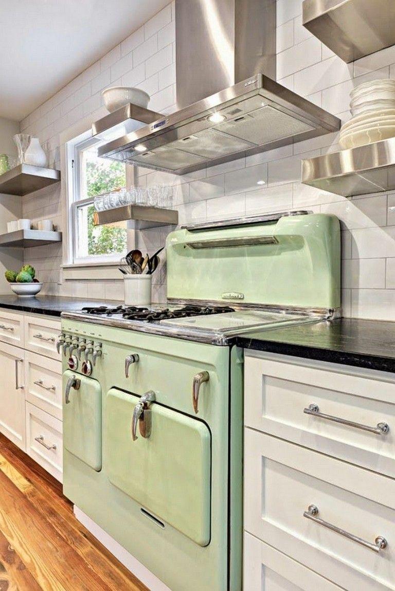 10 Modern Vintage Style Kitchen Appliance Product And Design In 2020 Shaker Style Kitchen Cabinets Retro Kitchen Kitchen Design