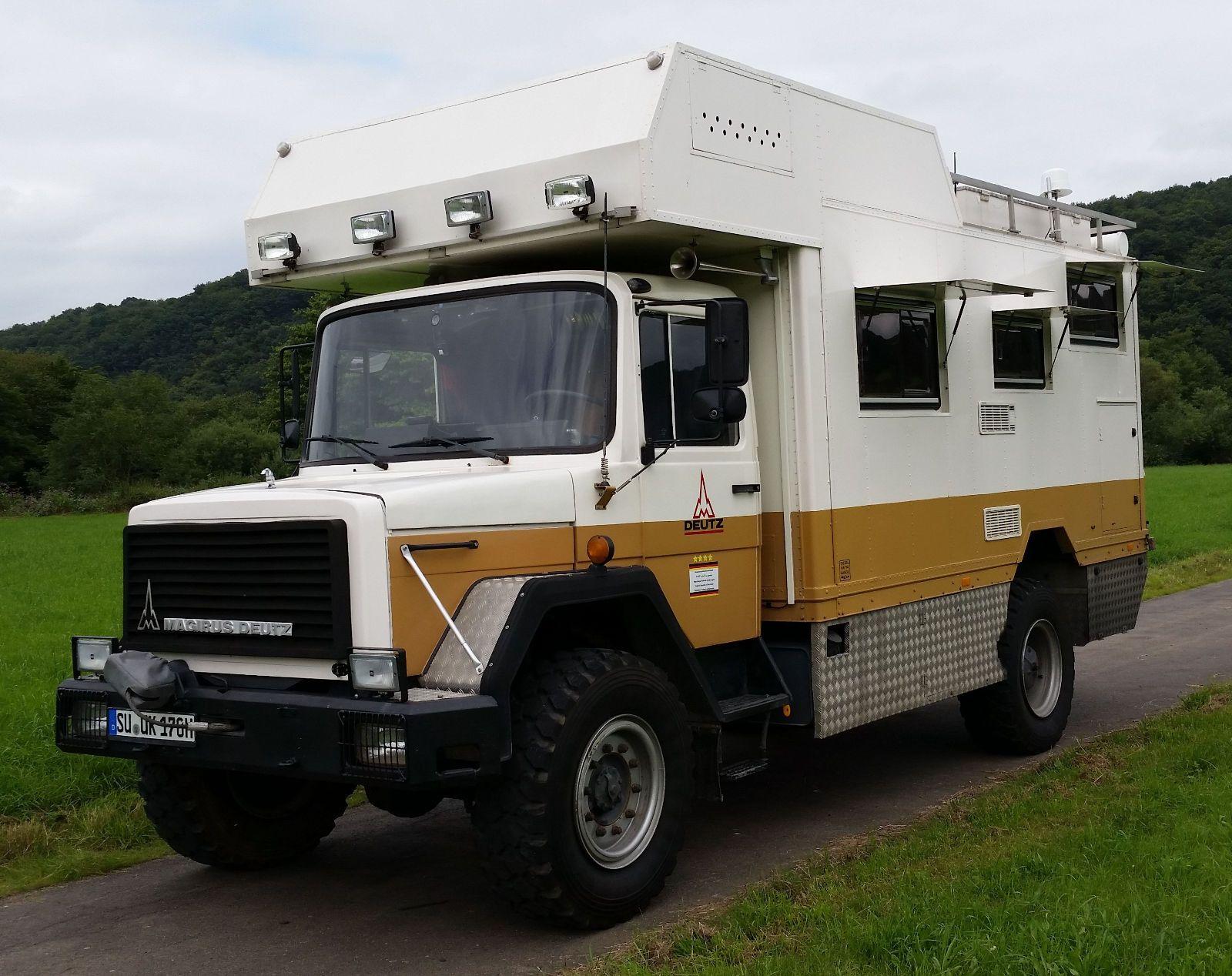 Andere Magirus-Deutz 8D8 als Wohnmobil andere in Eitorf  Deutz