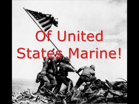 ▶ Halls of Montezuma: Marine anthem with lyrics - YouTube