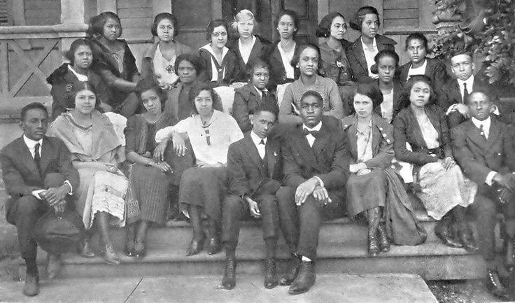1921 High School Graduates of Straight College, New Orleans, Louisiana - July, 1921