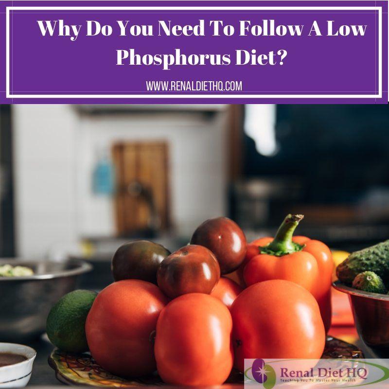 low phosphorus foods for kidney patients