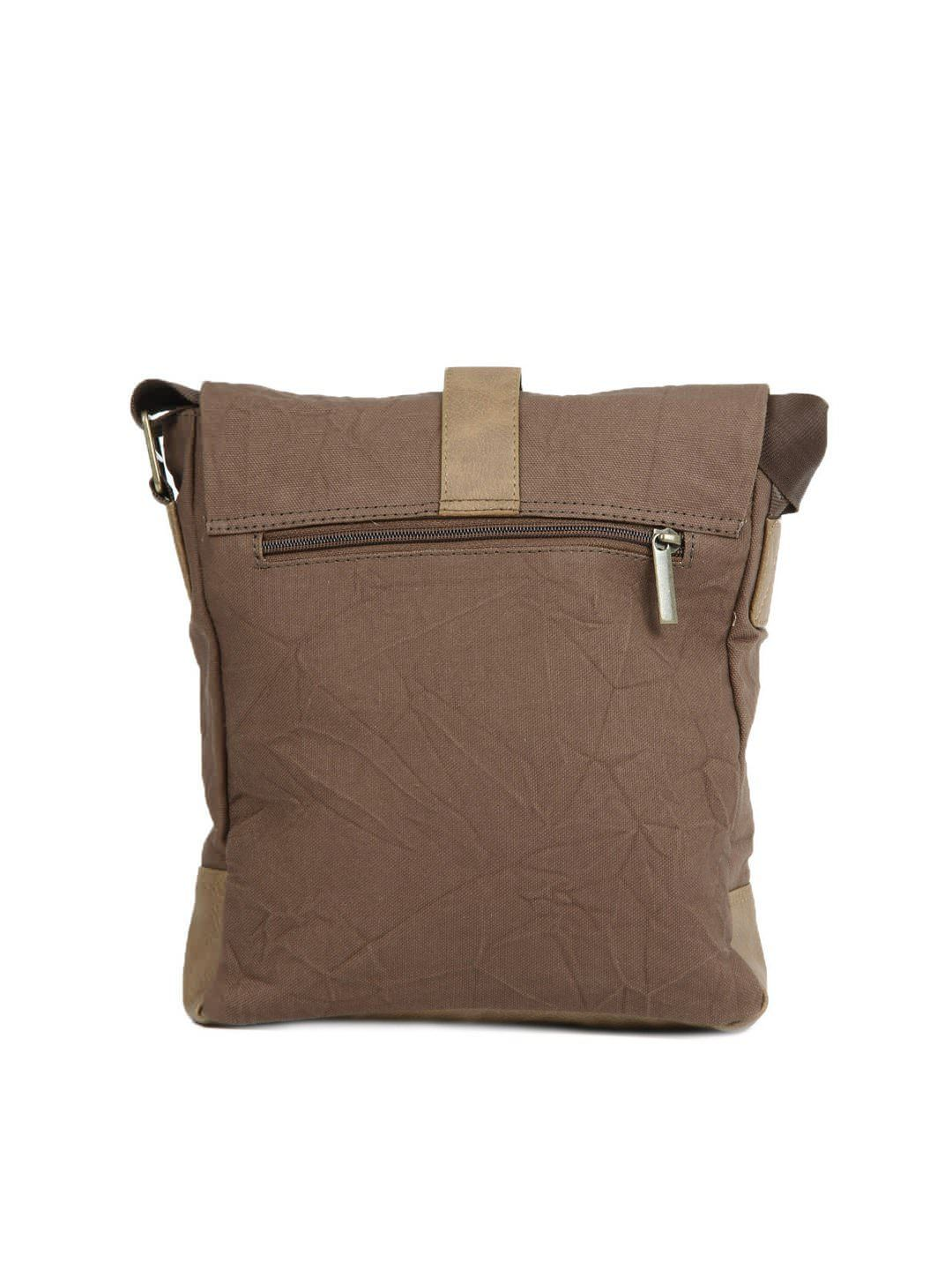 U.S. Polo Assn. Men Beige and Brown Sling Bag | Myntra ...
