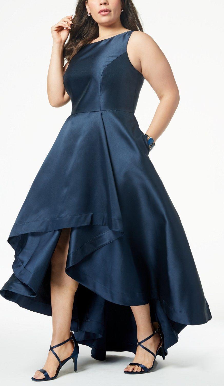 Plus size highlow gown plus size party dress plussize plus