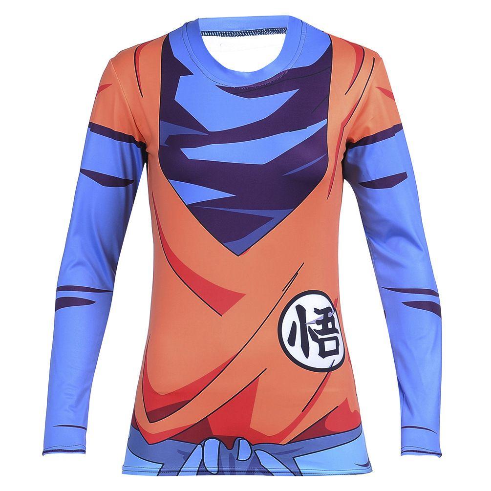 King Kai Training Go Symbol Goku Long Sleeves 3d Women T Shirt In 2021 T Shirts For Women Goku T Shirt Long Sleeve Tshirt Men