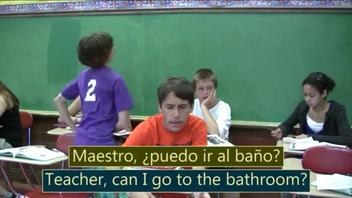 I Can Ask To Go To The Bathroom In Spanish I Can Statements I