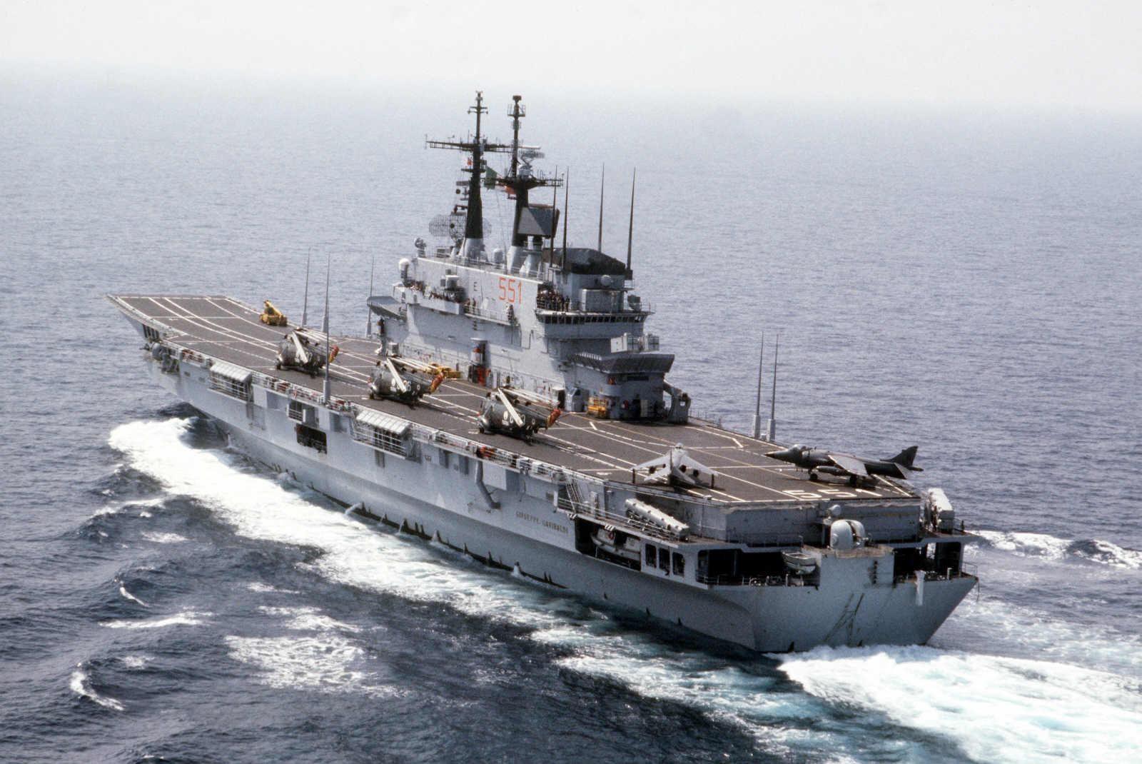 Giuseppe Garibaldi (551) Aircraft Carrier (Italy)