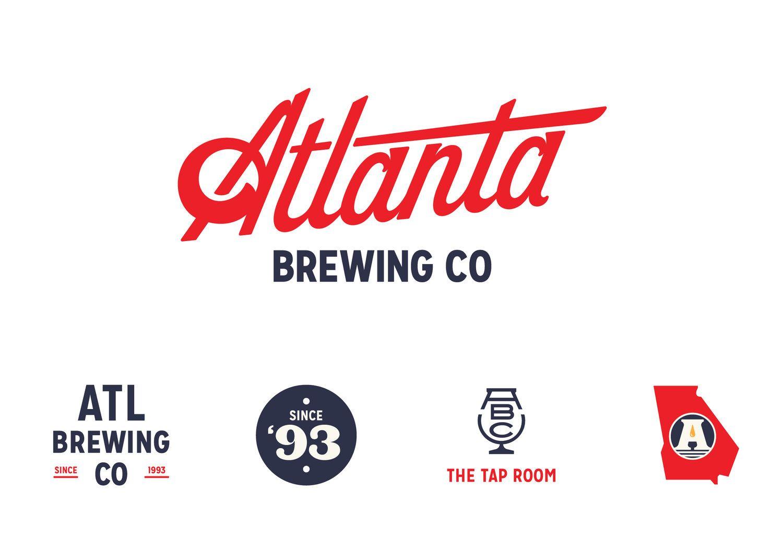 Atlanta Brewing Gets A Vintage Inspired Modern Update Brewery Logos Logo Branding Identity Branding Design