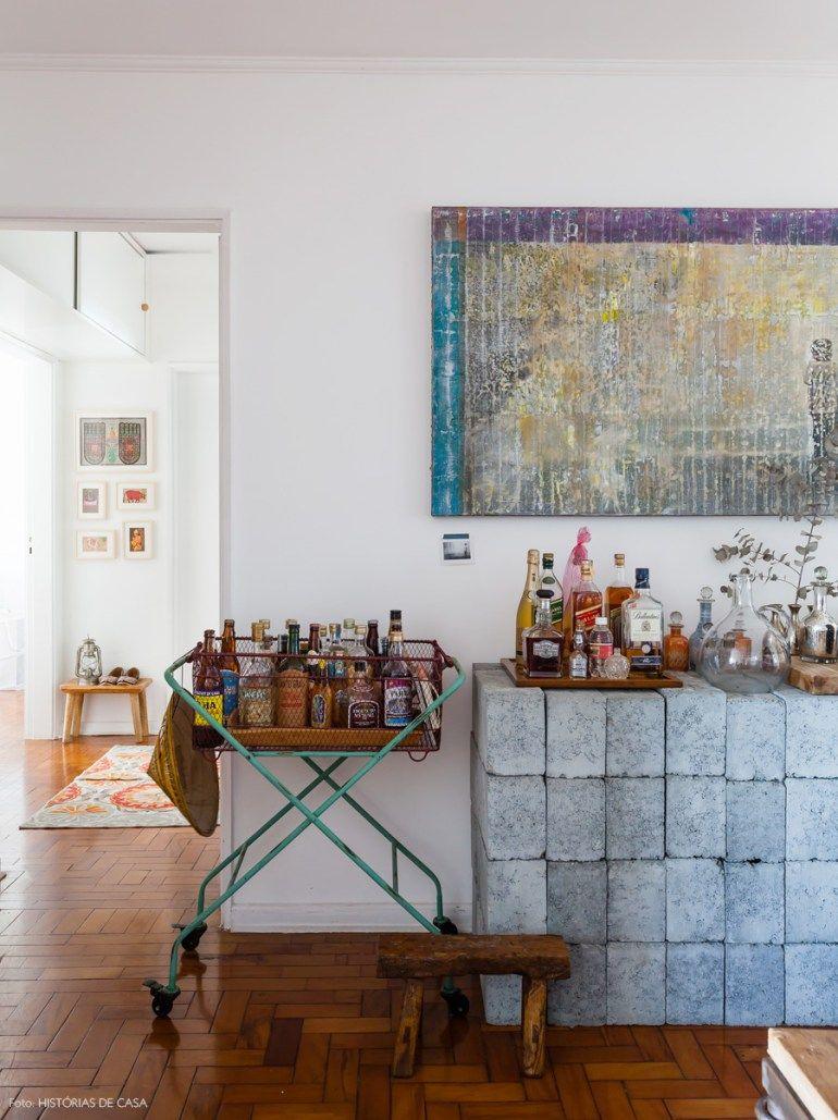 Alma Viajante Bar Decoration And Spaces -> Sala De Tv Improvisada