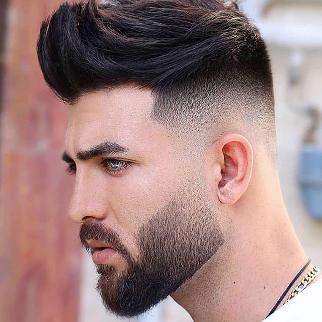 37 Beste Manner Frisuren Mit Bart Kurz In 2020 Herren Haarschnitt Gesichtsbehaarung Gesicht