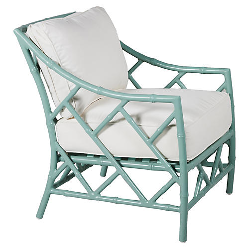 Patio Lounge Chair Repair Kit: A Preppy Outdoor Lounge