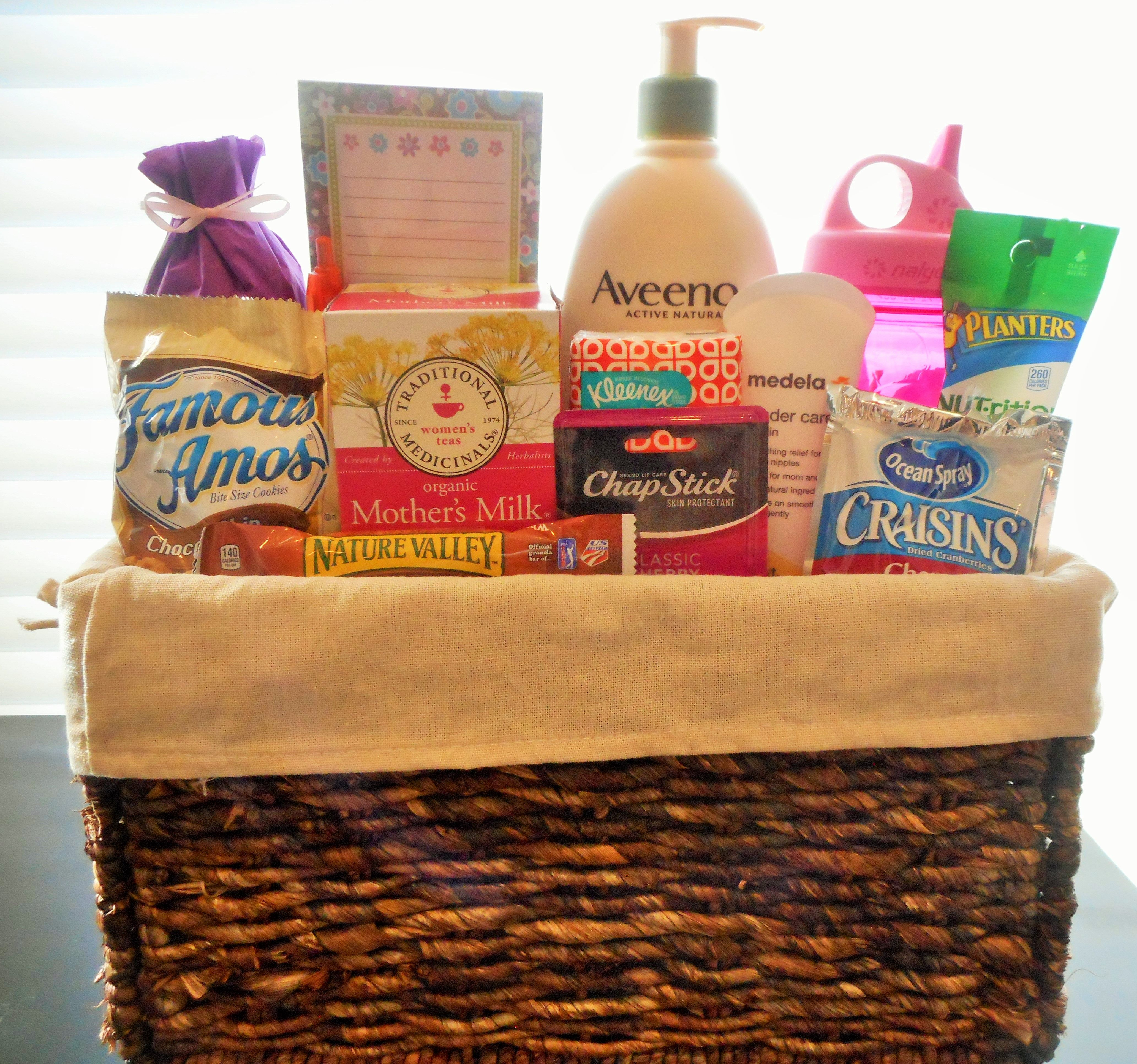 My breastfeeding gift basket features a variety of items to take my breastfeeding gift basket features a variety of items to take care of mothers while breastfeeding negle Image collections