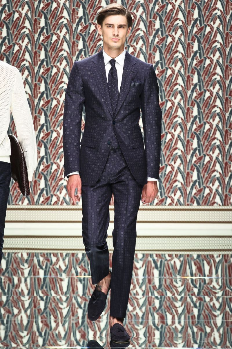 Ermenegildo Zegna Made to Measure SpringSummer 2013 Men's Lookbook recommendations