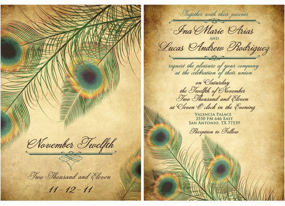 Peacock Wedding Invitations 2017 peacock wedding invitations