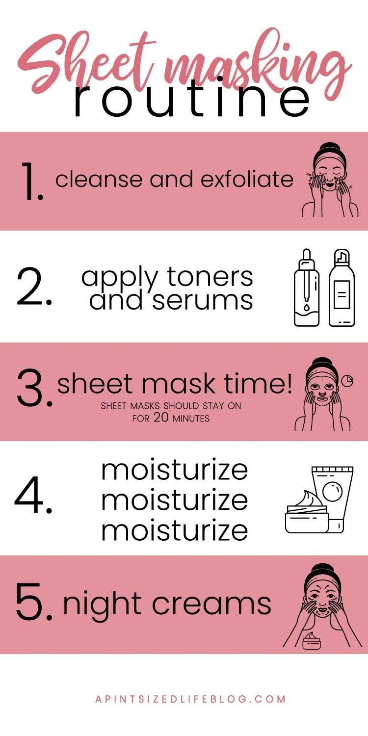 When To Put On A Sheet Face Mask In Your Night Time Beauty Routine Beautytipshacks Face Sheet Mask Beauty Routines Mask Treatment
