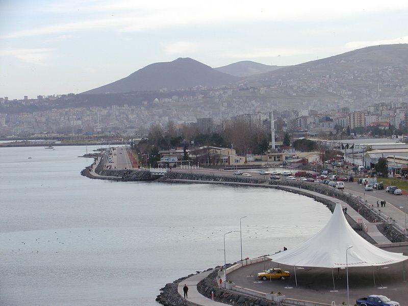 Ilkadim, in the Black Sea province of Samsun, altitude is