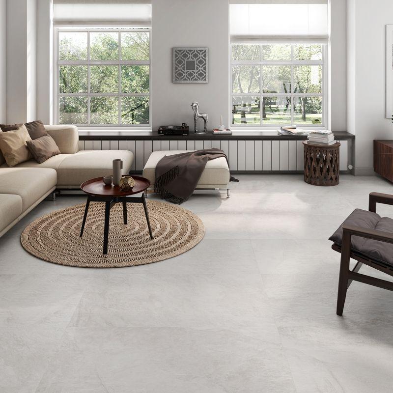 Roca Tile Usa Collections Porcelain Tile Floor Living Room Tile Floor Living Room Living Room Designs