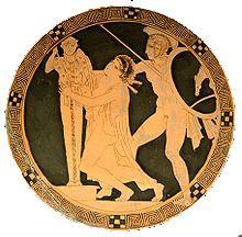 Cassandra Ancient Greek Myth Ancient Greece For Kids Greek Art Ancient Greek Pottery Ancient Art