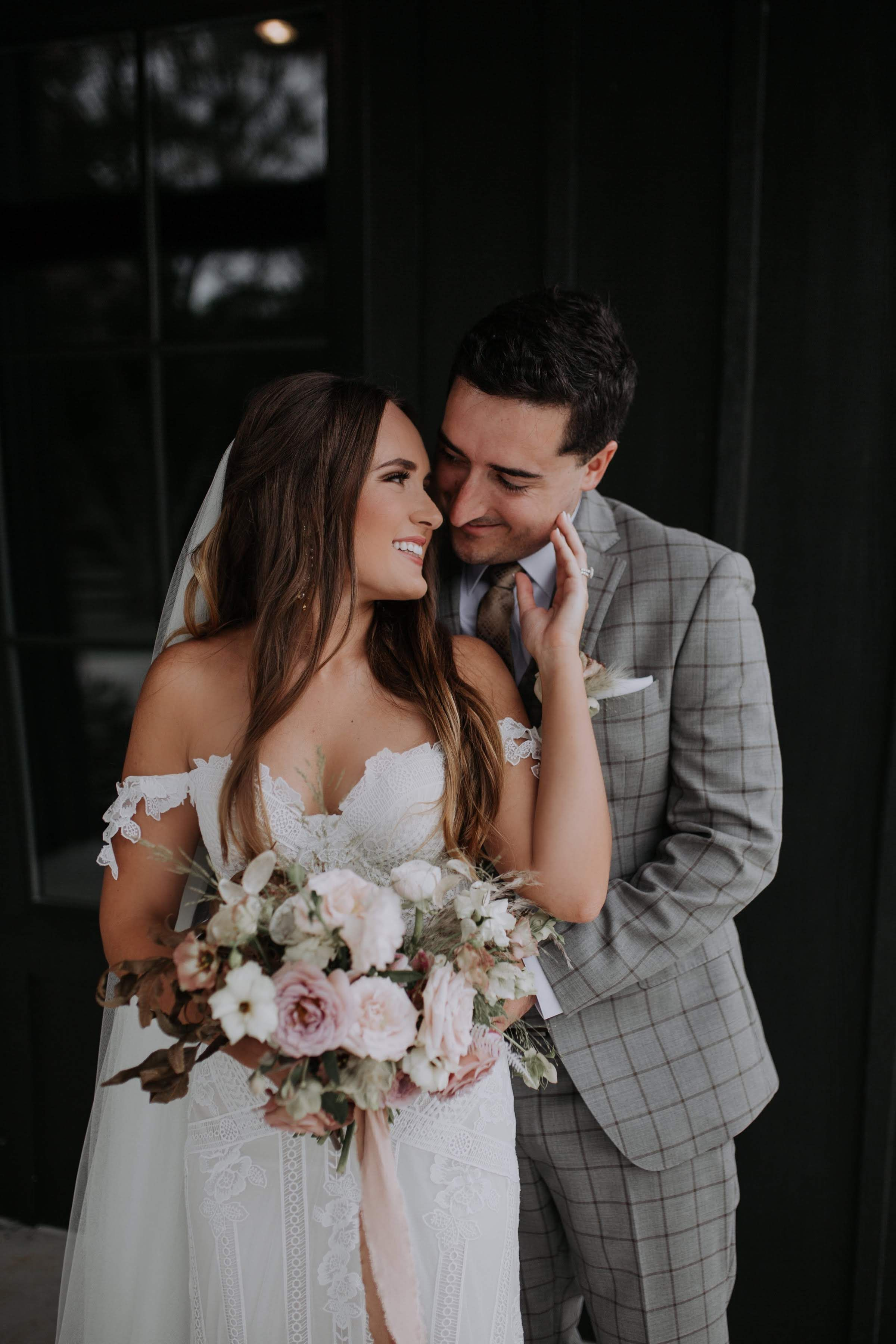 0d4448b3c9 Real Wedding  Shelby + Brooks    Modern + Boho Farmhouse Wedding in Oklahoma  City