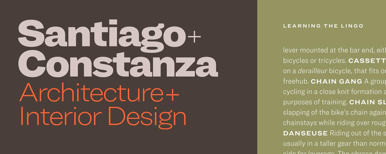 Ringside Fonts | Type Wishlist | Fonts, Typography, Design inspiration