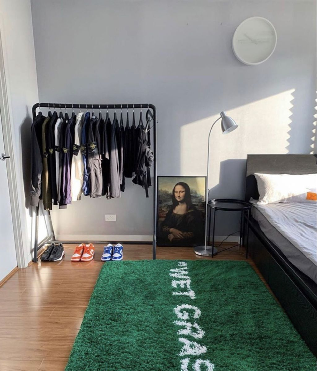 Homelesspenthouse Mens Bedroom Decor Room Design Bedroom Sneakerhead Room