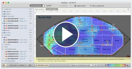 FREE WiFi Site Survey Software for MAC OS X & Windows | Net
