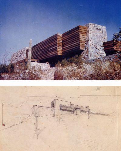 Rose pauson residence ship rock 1939 architettura e for Franco case dei progetti di lloyd wright