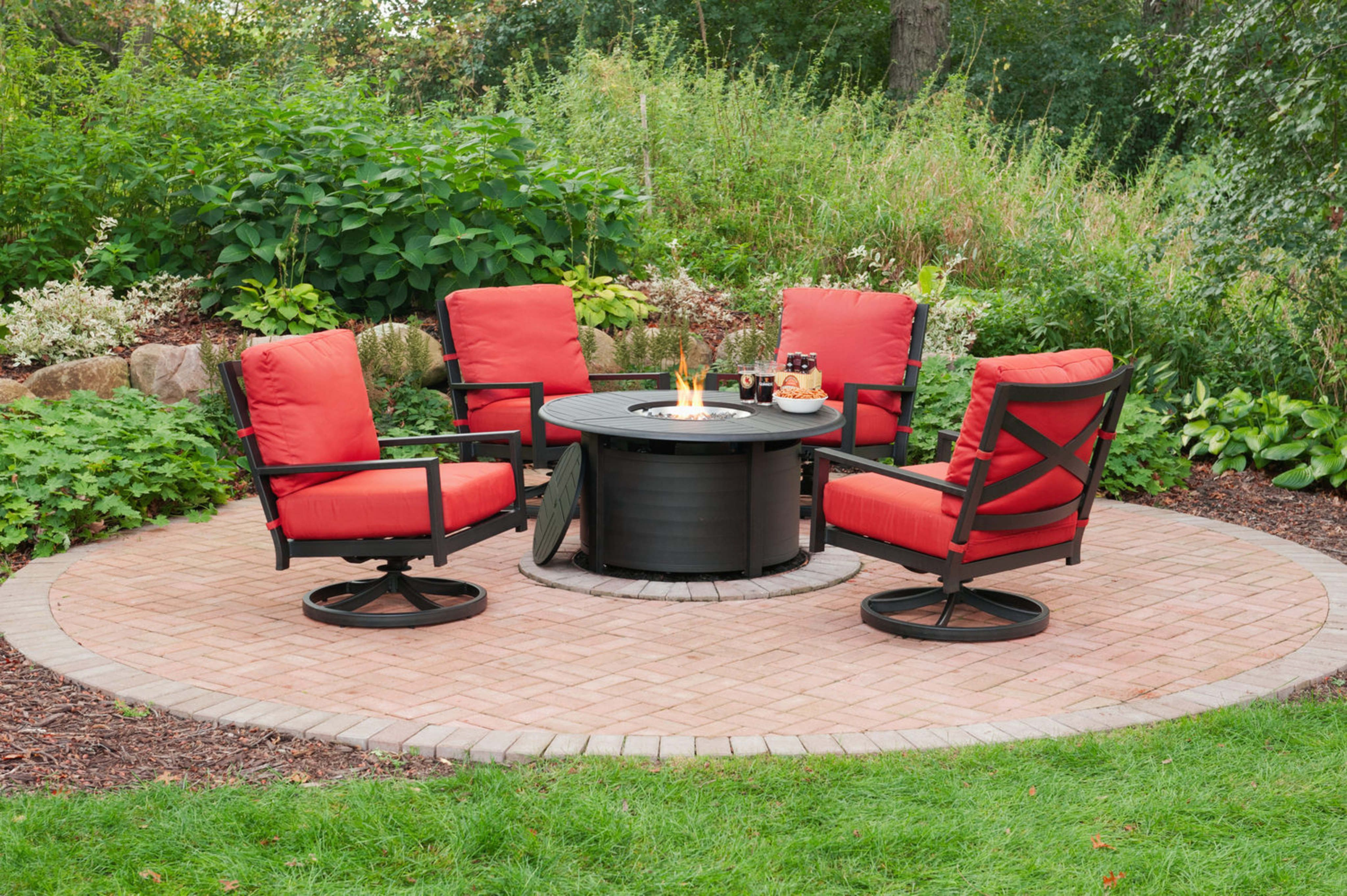 Patio Trends Resin Patio Furniture Patio Fire Table