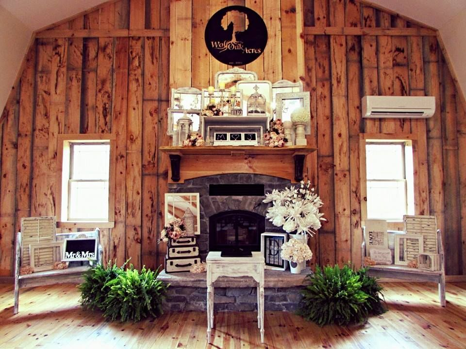 Ranked as one of the top 3 most romantic rustic wedding