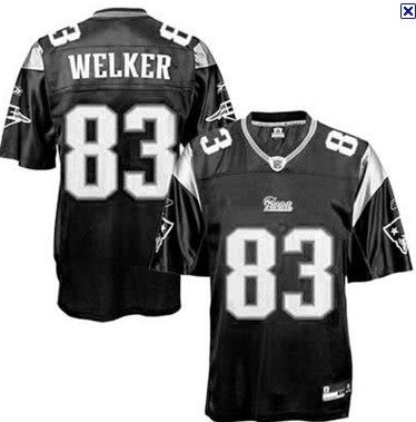 Wes Welker Jersey, #83 New England Patriots Authentic NFL Jersey ...