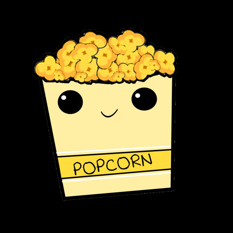 Popcorn kawaii. Pin by udash on