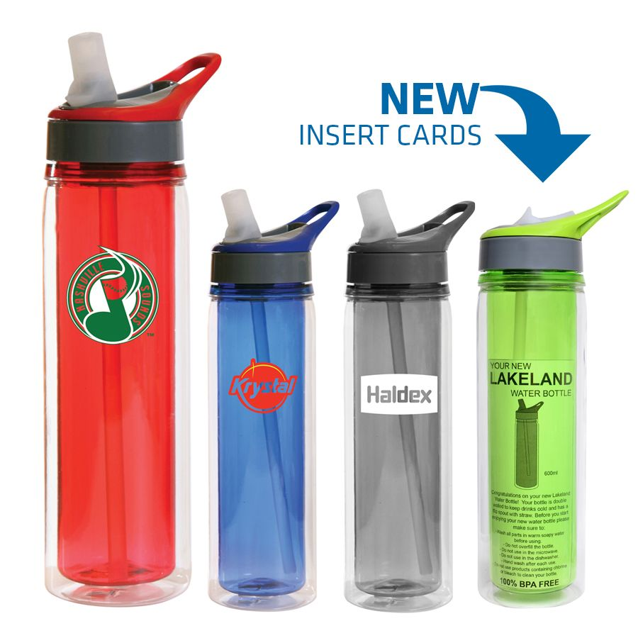 BPA free, these 600ml Lakeland Triton Insulated Water