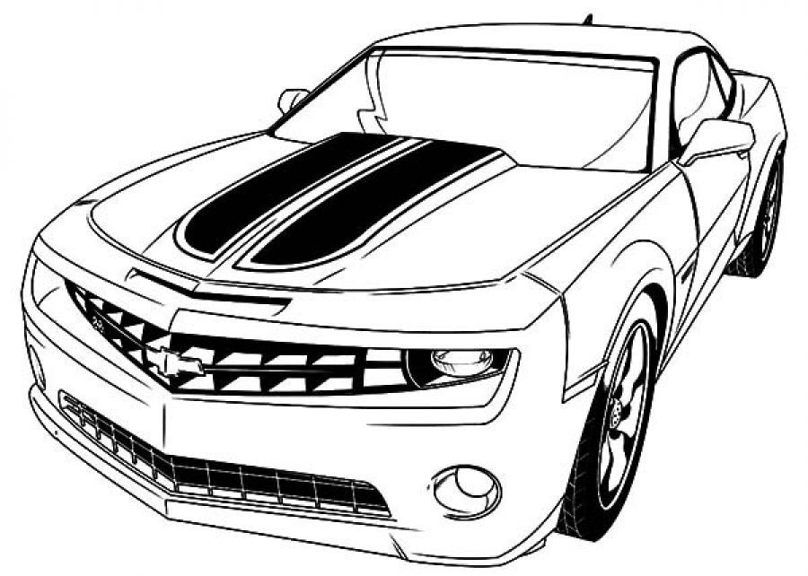 Bumblebee Car Coloring Pages Transformer 2020 Cars Coloring