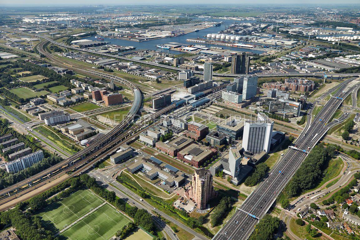 Sloterdijk.foto: Marco van Middelkoop/Aerophoto-Schiphol