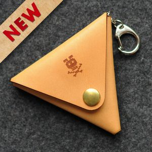 Triangle coin case by Brainbow