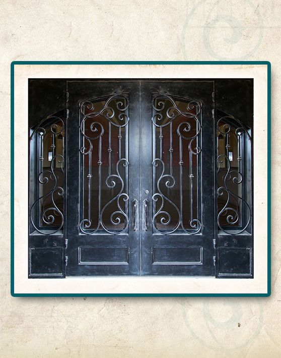 San Antonio Wrought Iron Doors