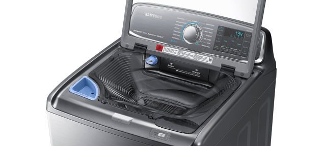 This Samsung Washer Has Its Own Built In Sink For Pre Treating
