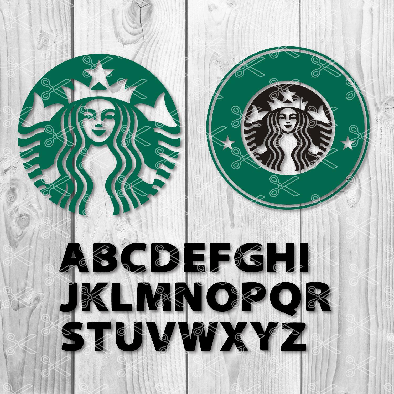 Starbucks Letters Starbucks Logo SVG Starbucks logo