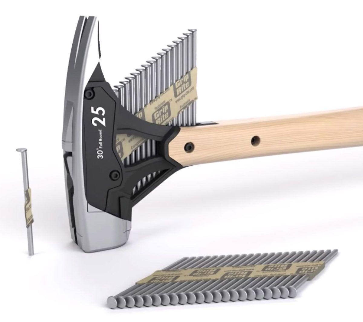 This Hammer Dispenses Nails Nailed It! Technabob Cool