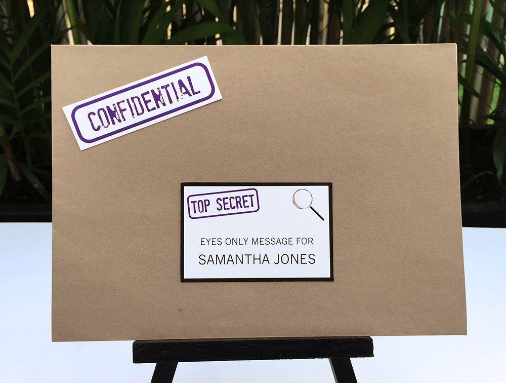 Spy Secret Agent Party Printables, Invitations & Decorations ...