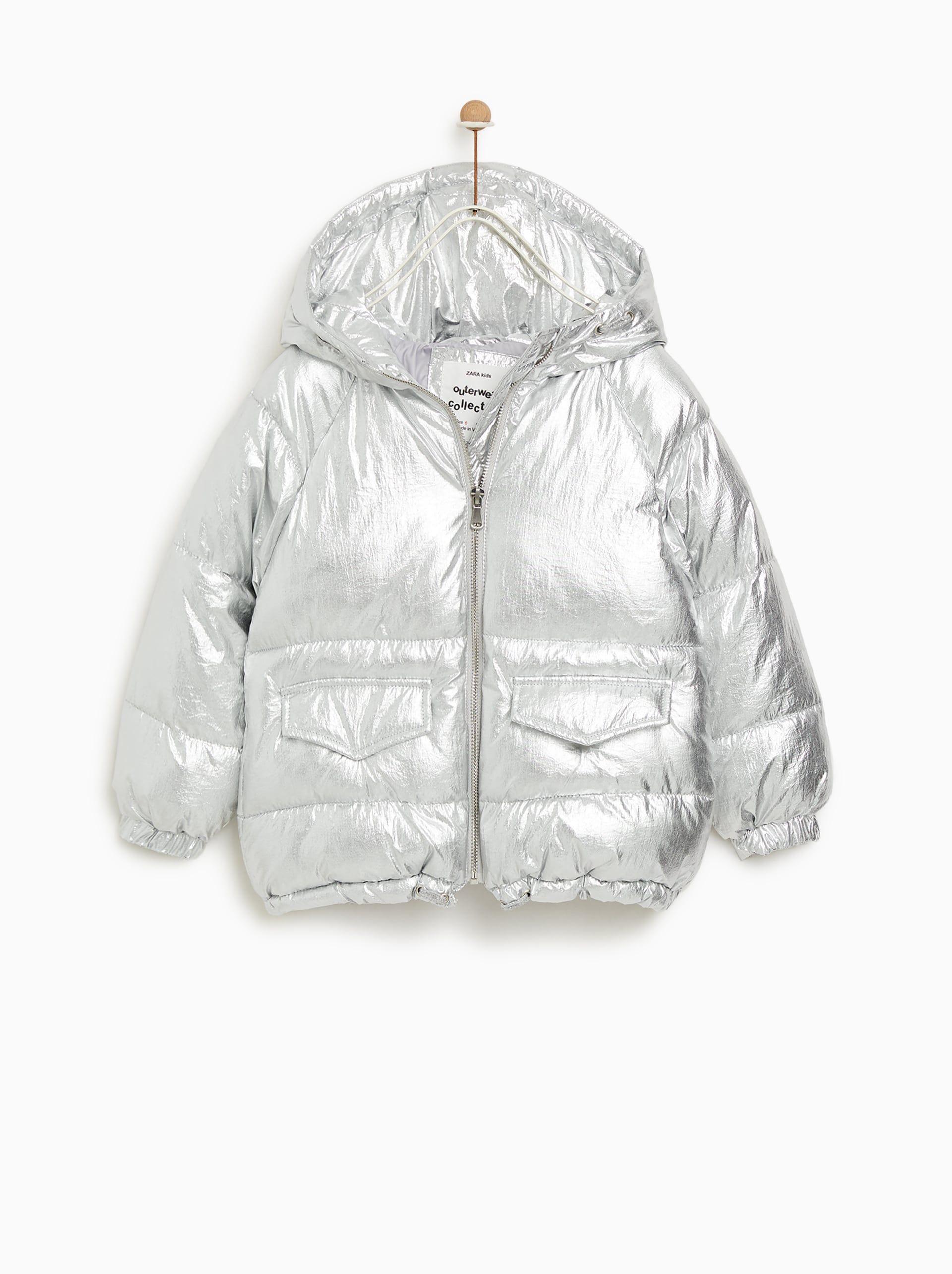 ZARA - ΠΑΙΔΙΚΑ - ΜΠΟΥΦΑΝ ΚΑΠΙΤΟΝΕ ΜΕΤΑΛΛΙΖΕ Kids Winter Fashion 3dc370fa220