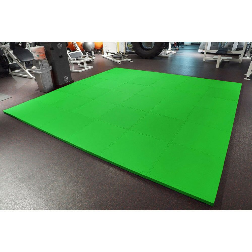 """MEISTER 1.5"""" PUZZLE FLOOR MATS *EXTRA THICK* Home Gym Play"""