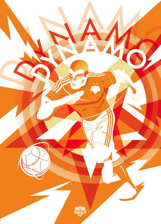 #MLSSoccer #TrueColors - Fan Art - Houston Dynamo - Chris Switzer