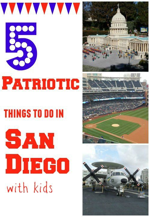 5 Patriotic Things to do in San Diego With Kids
