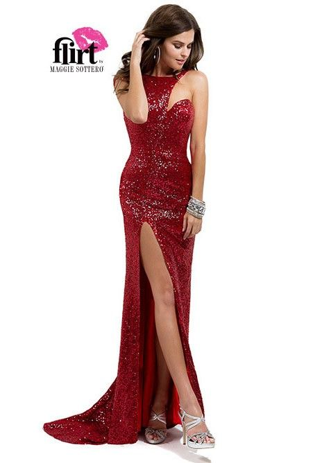 864b91b18ae Flirt by Maggie Sottero P5807 Sparkly Evening Gown
