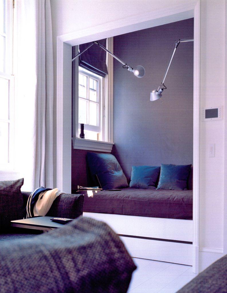 Piet Boon - window seat cushion and lighting