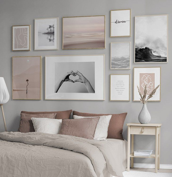 Gallery wall and picture wall inspiration - Desenio.com