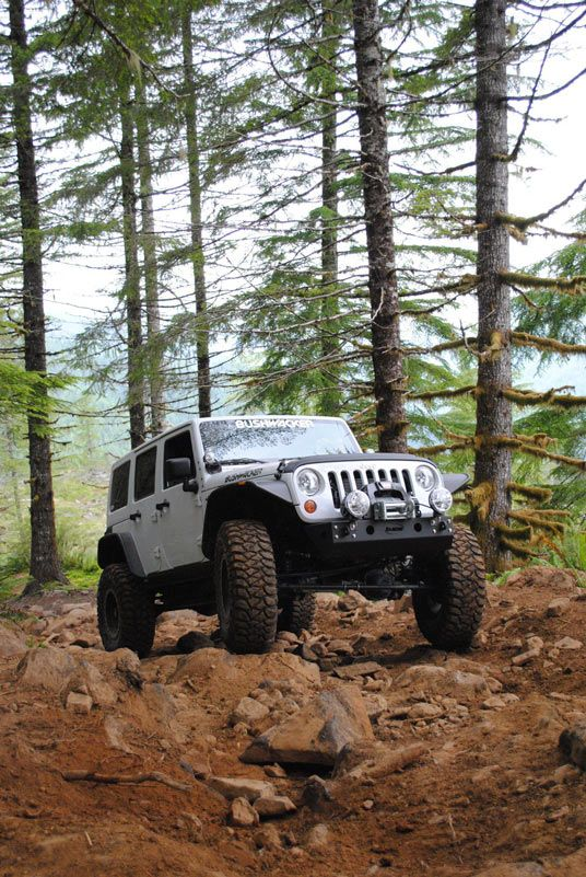 Bushwacker S Jeep Wrangler Jk On The Trail 2012 Jeep Wrangler